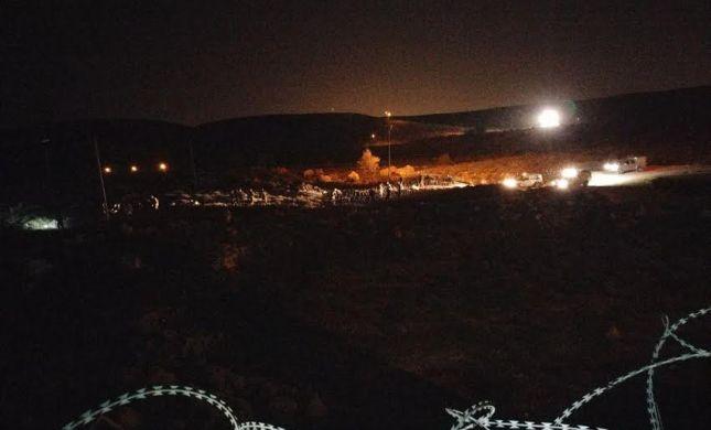 הצבא גידר את שכונת גבעת צבי בעפרה