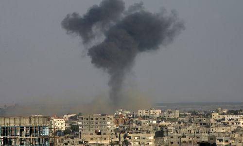 """חדשות, חדשות צבא ובטחון בתגובה לירי הרקטה: צה""""ל תקף 5 יעדים בעזה"""