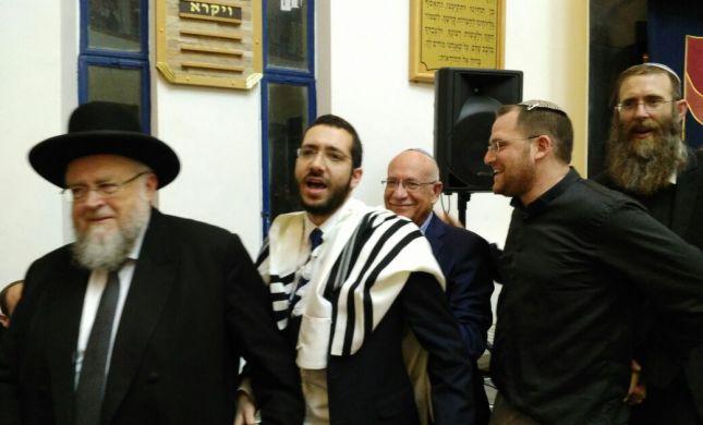 הרב אסף הר-נוי הוכתר כרב קהילת אדרת אליהו בגילה