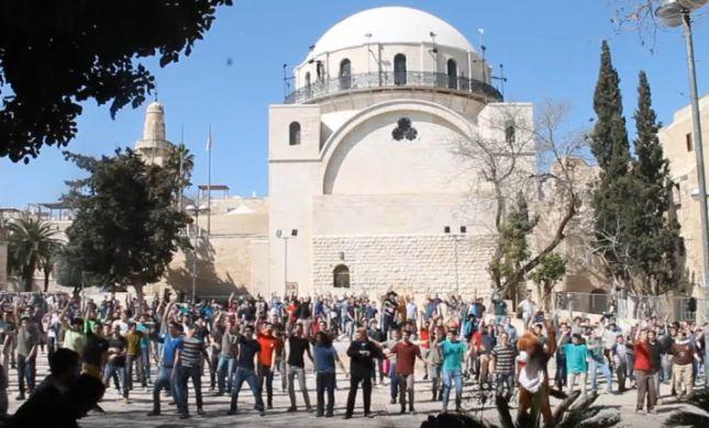 צפו: ה'פלאש מוב' של מקור חיים מזיזים את ירושלים