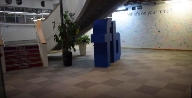 צפו: פרצו למשרדי פייסבוק בלונדון וגילו כתב בעברית