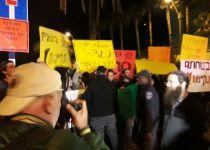 מחוץ לגיבוש הקואליציה: מחאת תושבי עמונה