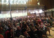 אירוע האזכרה ליאיר שטרן: מאות נאלצו להשאר בחוץ