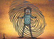 קריקטורה: חוק המאגר הביומטרי עבר בכנסת