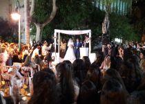 חסד אמיתי: חתונה לזוג גרים באולפנת כפר פינס