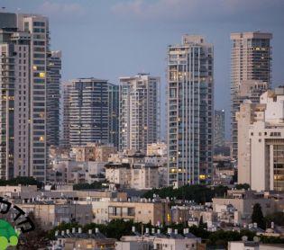"""כלכלה ונדל""""ן, נדל""""ן לגור במגדל במרכז הארץ: פערים גדולים בין הערים"""