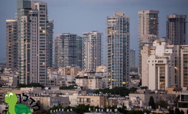 לגור במגדל במרכז הארץ: פערים גדולים בין הערים