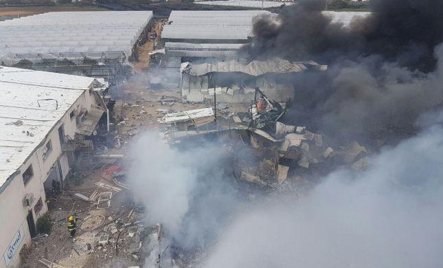 2 הרוגים בשריפה של מחסן זיקוקים בפורת