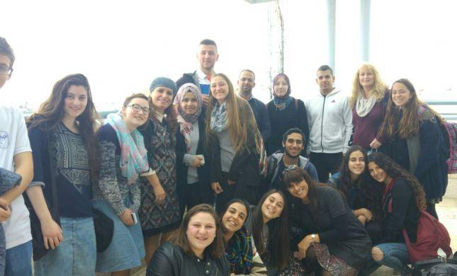 """בני נוער ערבים ויהודים עלו לירושלים כחלק מאירועי שבוע החמ""""ד"""