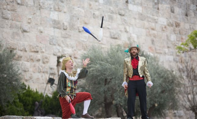 להעיר ת'עתיקה: חוויה תיאטרלית בסמטאות העיר העתיקה של ירושלים