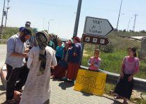 בעקבות הרצח: תושבי יצהר חסמו את הכביש לערבים