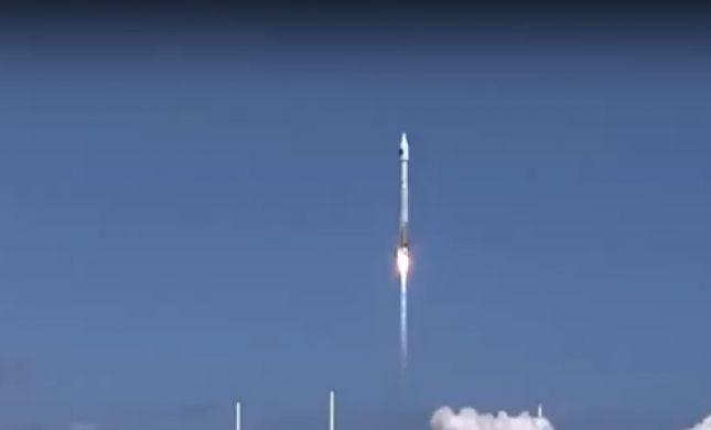 תיעוד מרהיב: לוויין תלמידים ישראלי שוגר לחלל. צפו