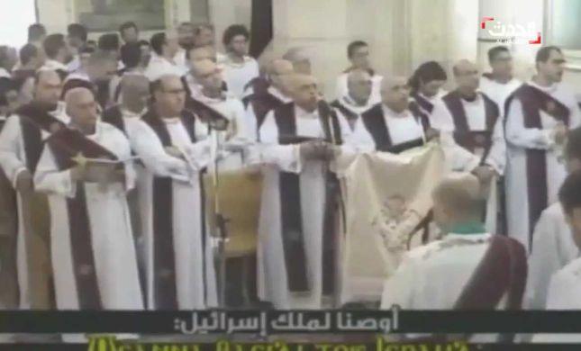 תיעוד: רגע הפיצוץ בכנסייה בטנטא במצרים