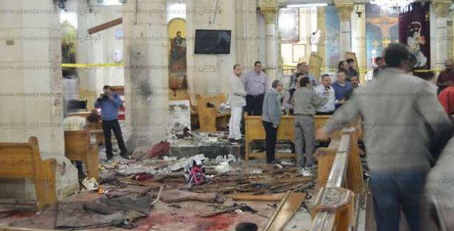 דיווח: עשרות הרוגים ופצועים בכנסיה במצרים