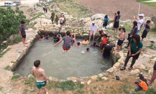 ארץ ישראל יפה, טיולים מרהיב: אלפים בחגיגת מים בחבל 'יתיר'