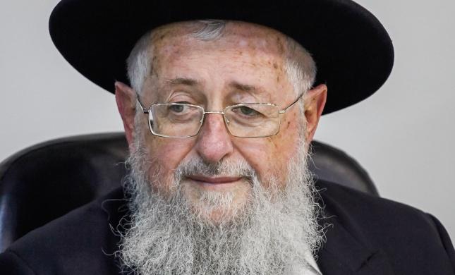 """הרב דיכובסקי מבהיר: """"הרב יצחק יוסף - גדול שבגדולים"""""""