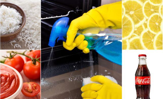 לגזור ולשמור: 8 המאכלים שאפשר גם לנקות איתם