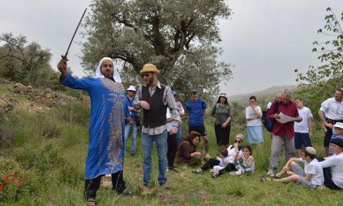 """ארץ ישראל יפה, טיולים למעלה מארבעים אלף מבקרים בפסטיבל נופי התנ""""ך בבנימין"""