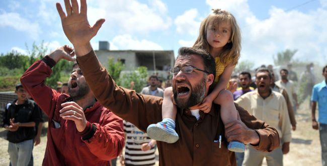צבא אסד הרג בנשק כימי עשרות ילדים