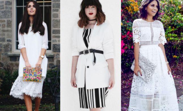 השראה: נבחרות האופנה מציגות איך ללבוש לבן