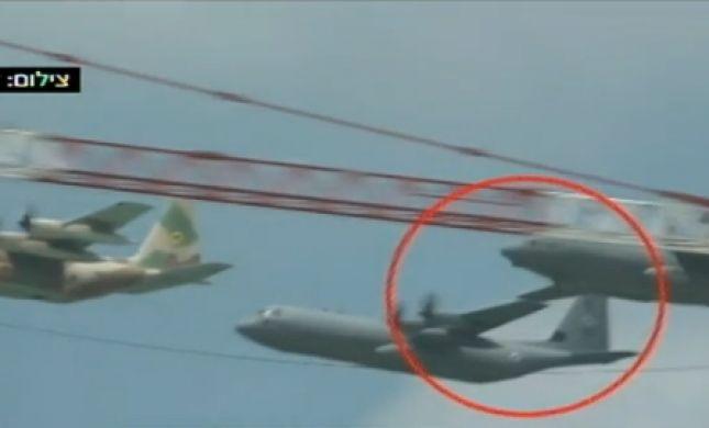 שנייה מאסון • תיעוד דרמטי: צפו במטוסים משתפשפים