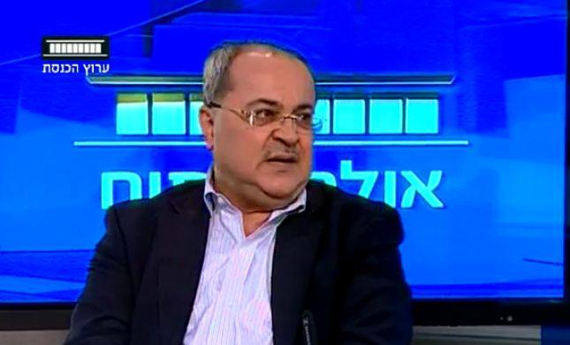"""צפו • אחמד טיבי: """"להבריח מלח לאסירים ביטחוניים"""""""