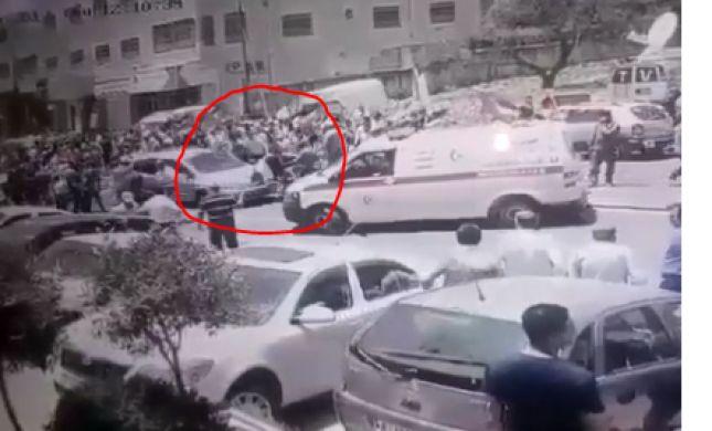 תיעוד חדש מוכיח: הנהג דרס וירה אחרי שהותקף.צפו