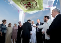 חתונת השנה במגזר: בנה של אתי אורלב נישא