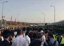 אוטובוסים לא הגיעו: עשרות אלפים תקועים במירון