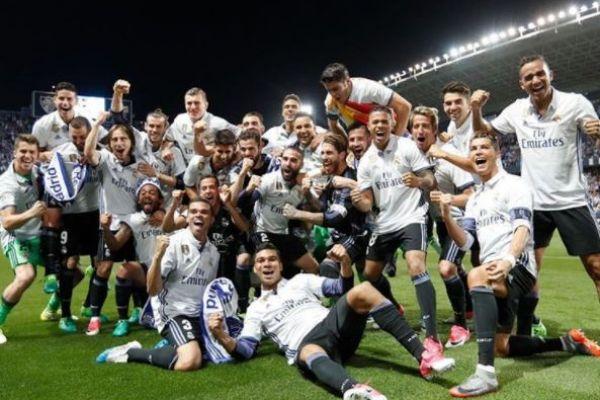 עשו את זה סוף סוף: ריאל מדריד היא אלופת ספרד