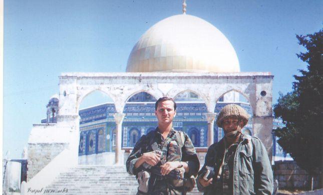 יום ירושלים: תפילת מנחה ראשונה ליד אבן השתייה