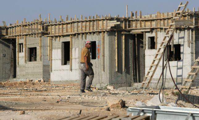 """שלום עכשיו מזועזעים: עליה של 34% בבנייה ביו""""ש"""