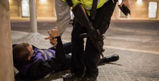 ערבי ניסה לחטוף נשק מאיש משמר הכנסת