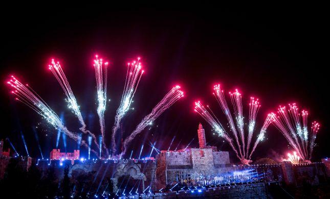 כולה אור • גלריה מרהיבה מחגיגות 50 בירושלים