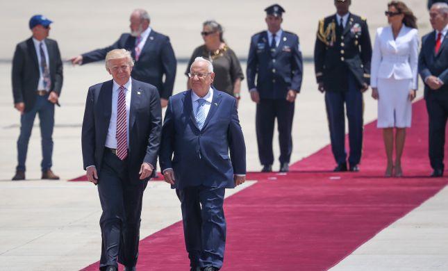 """הנאום הציוני של טראמפ: """"אוהבים את ישראל"""""""