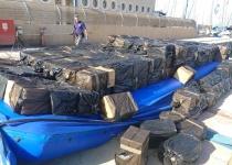 המשטרה תפסה הברחת ענק של סיגריות דרך הים