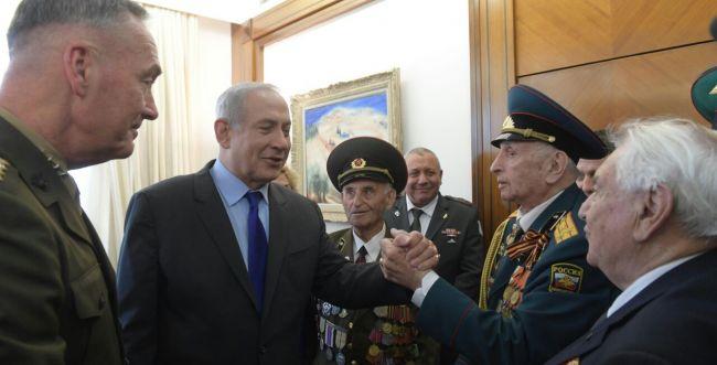 נתניהו עשה כבוד לגיבורי מלחמת העולם השנייה