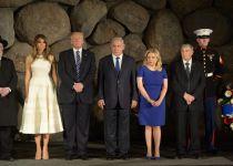 """טראמפ ביד ושם; """"עלינו להתמודד עם הברברים"""""""