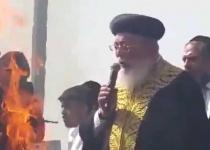 צפו: הרב עמאר ב'מי שברך' לחוגגים במירון