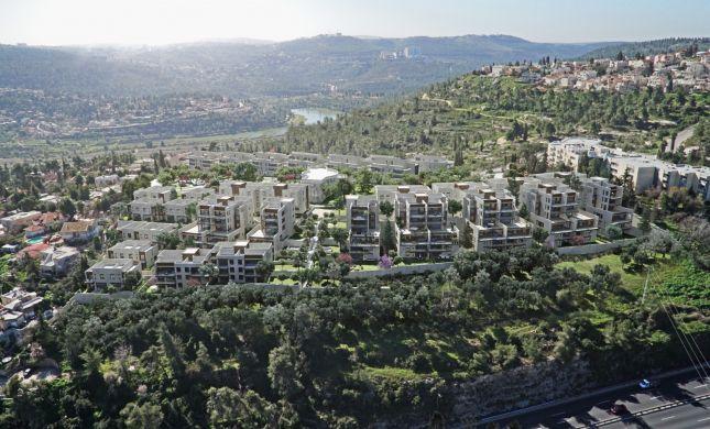 """החל ביצוע עבודות השלב האחרון בפרויקט היוקרתי """"אזורים מוצא עילית"""" הכולל 130 יחידות דיור"""