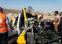 6 הרוגים בתאונה בבנימין בין מונית ערבית ואוטובוס