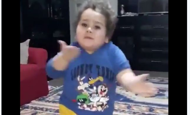 צפו: הילד הערבי שמשגע את הרשת