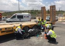 עורך דין מוכר נהרג בתאונת אופנוע בכביש 443