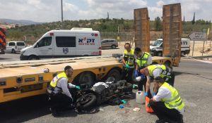 חדשות המגזר, חדשות קורה עכשיו במגזר, מבזקים עורך דין מוכר נהרג בתאונת אופנוע בכביש 443