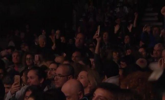 צפו:הקהל משתולל ולא נותן למירי רגב להשחיל מילה