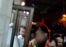 """צפו: נכנסו להתפלל עם מדים וחולצו ע""""י המשטרה"""