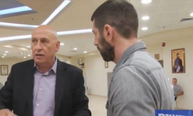 צפו: המשפט שגרם לבאסל גטאס לפוצץ את הראיון