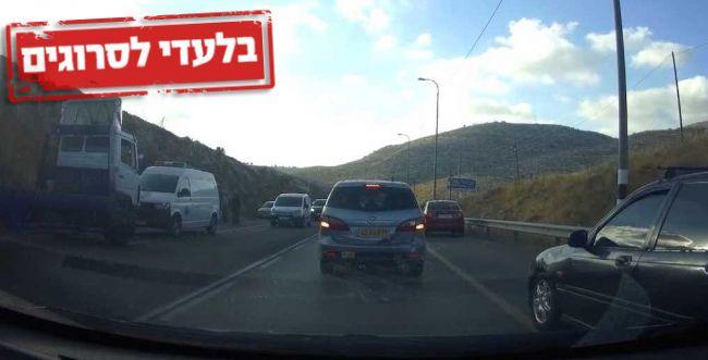 """איפה המשטרה? שוטרים פלסטינים בכבישי יו""""ש"""