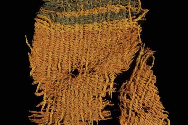בתמנע נמצאו בגדים צבועים מימי דוד המלך