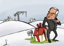 """קריקטורה: נתניהו בונה ומקפיא ביו""""ש"""